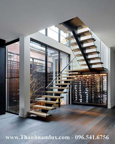 Cầu thang sắt đẹp nhất
