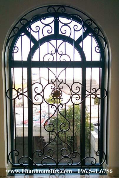 Mẫu hoa cửa sắt mỹ thuật, hoa sắt nghệ thuật đẹp