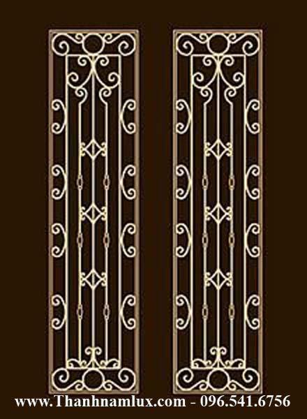mẫu khung hoa sắt cứa sổ đẹp và tinh tế