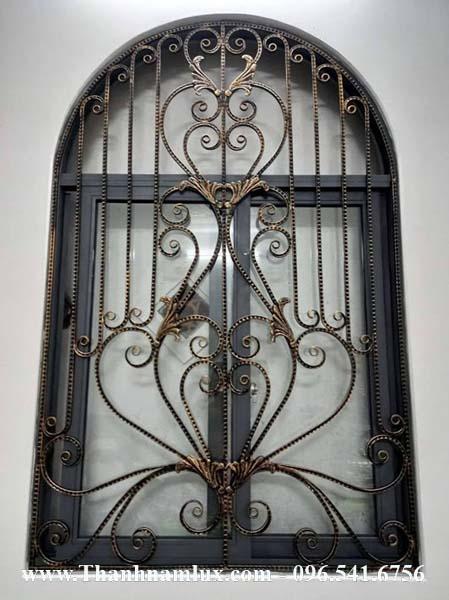 Mẫu hoa cửa sắt mỹ thuật, hoa sắt nghệ thuật đ