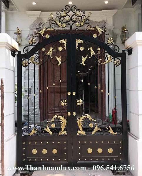 Mẫu cổng sắt mỹ thuật đẹp mới nhất