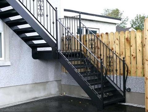 50 Mẫu cầu thang sắt đẹp nhất hành tinh