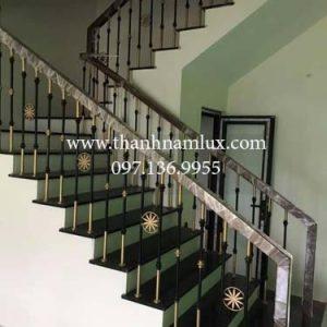 Cầu thang sắt đơn giản MS4