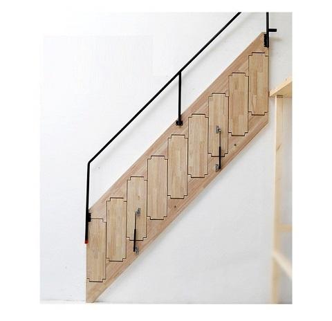 20+ Mẫu Cầu Thang Sắt Gấp Vào Tường Đẹp cho căn hộ mini 2021