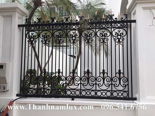 Hàng rào sắt mỹ thuật đẹp