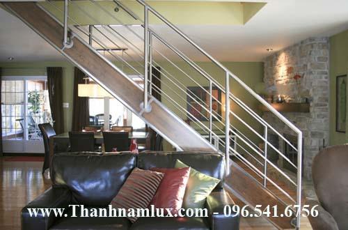 thi công cầu thang inox tại hà nam