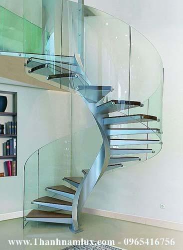 cầu thang xoắn ốc hải dương