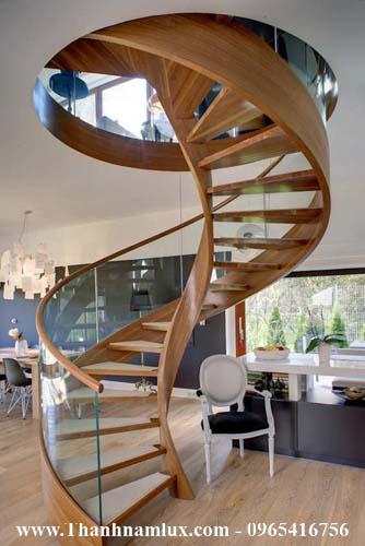 mẫu cầu thang xoắn ốc lạng sơn đẹp nhất